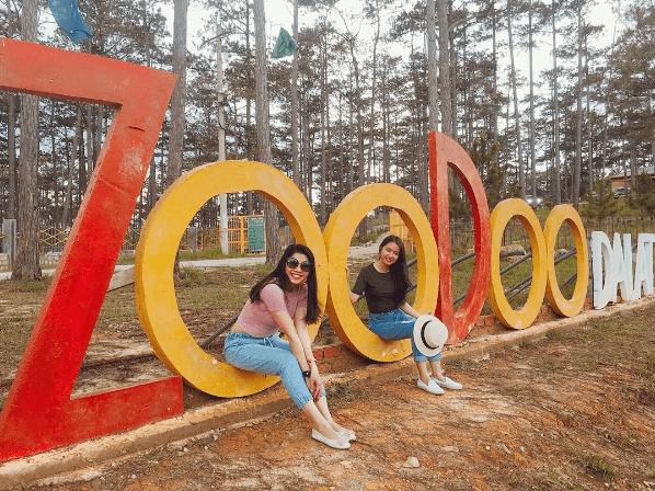 Tour 1N1Đ sở thú zoodoo Đà Lạt