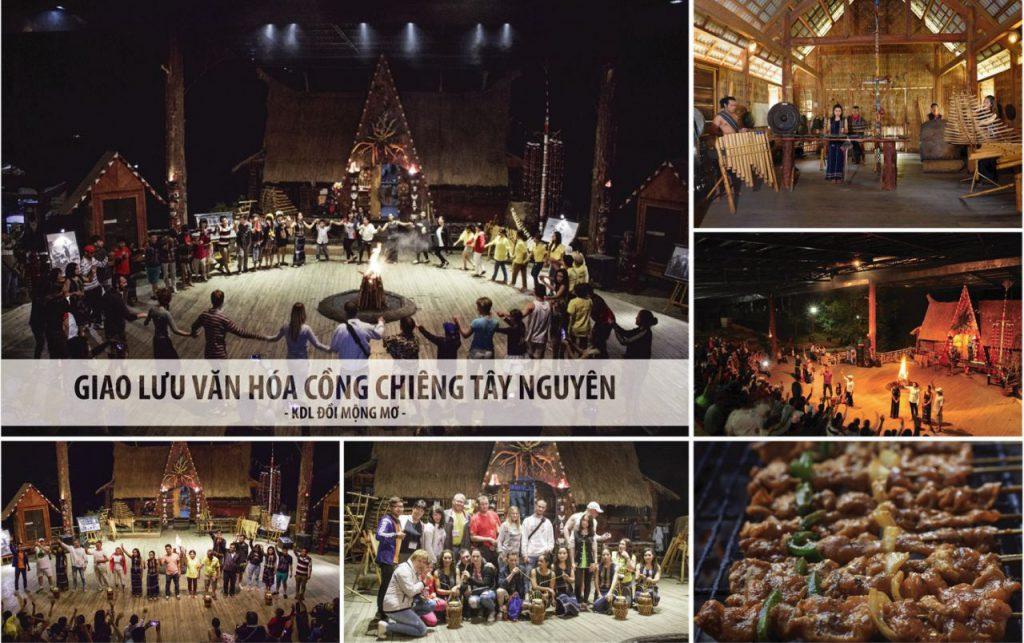 Tour đà lạt 1 ngày 1 đêm tour giao lưu cồng chiêng