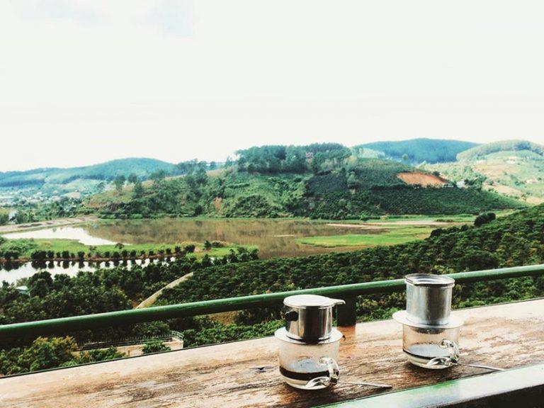 Mê Linh coffee garden tp Đà Lạt lâm đồng