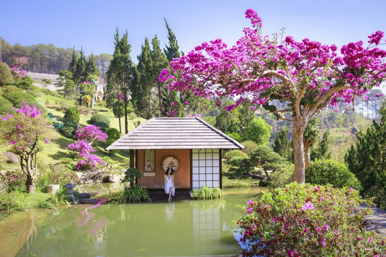 Que garden ở Đà Lạt