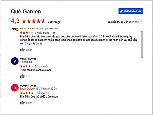 review que garden