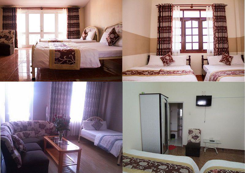 Phòng khách sạn MT Đà Lạt