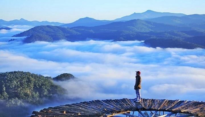Tour săn mây Đà Lạt ngắm bình minh