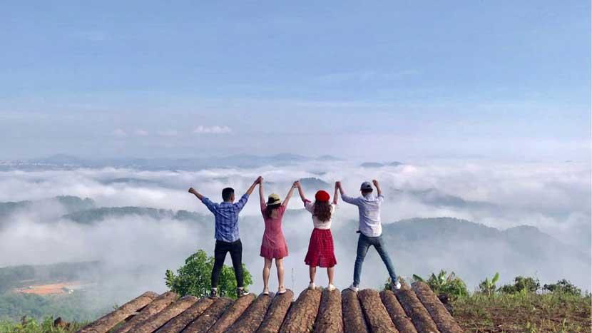 Trải nghiệm tour săn mây Đà Lạt