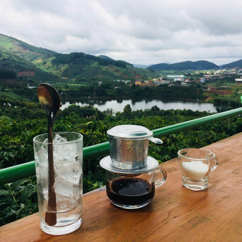 cà phê mê linh Đà Lạt