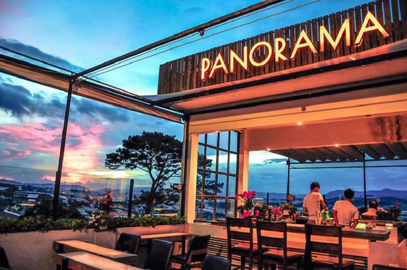 Panorama cà phê view đẹp Đà Lạt