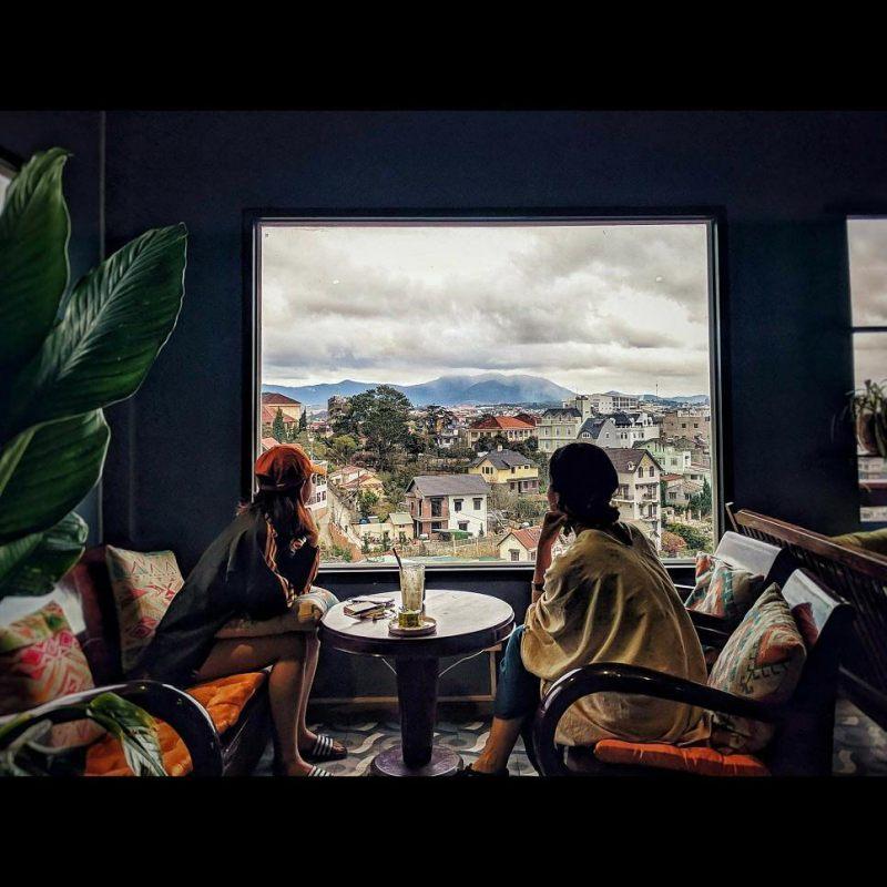 quán cà phê đẹp ở đà lạt trên cao