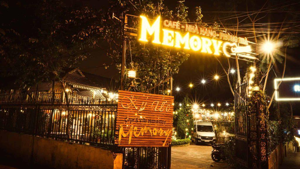 Cafe villa Homestay nhà hàng Memory