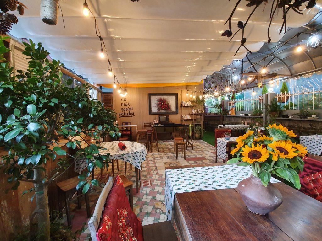 Lặng Art Coffee ở Đà Lạt