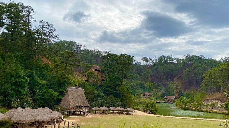 làng cù lần Đà Lạt