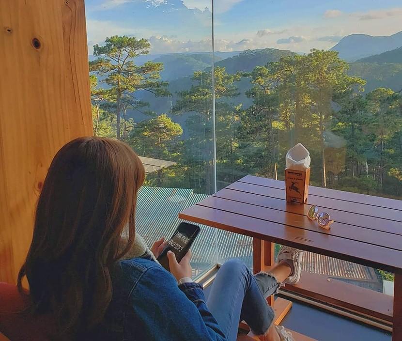quán cà phê Bùi Văn Ngọ sống ảo tại Đà Lạt