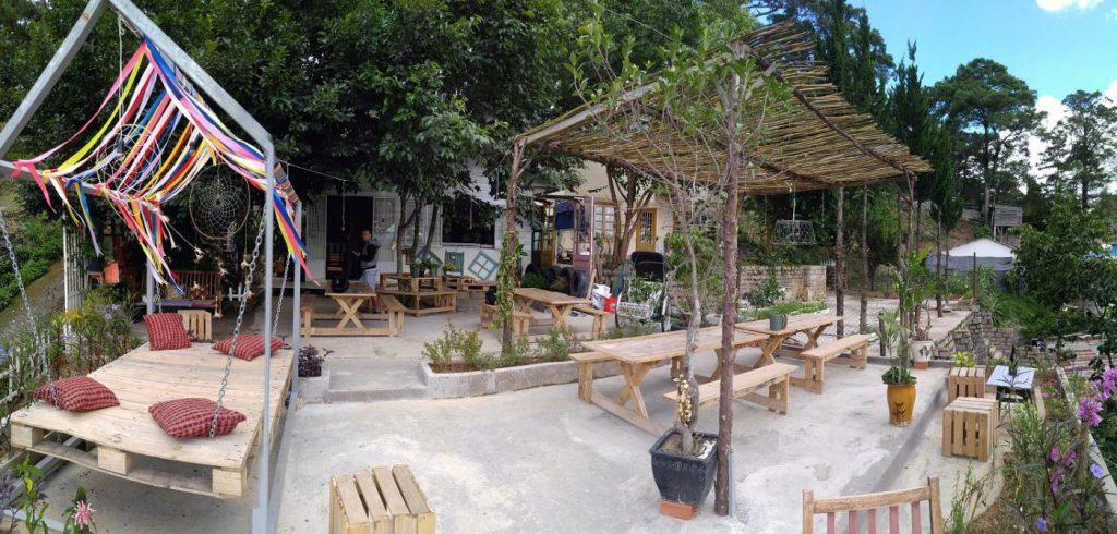 sunshine coffee Đà Lạt không gian đẹp