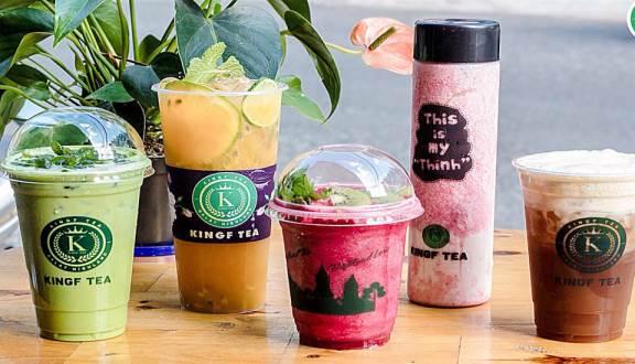 King F tea Đà Lạt