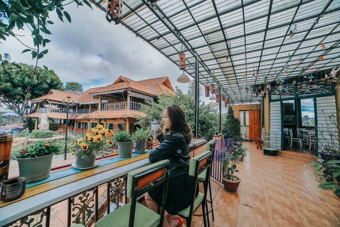 memory cafe villa Đà Lạt