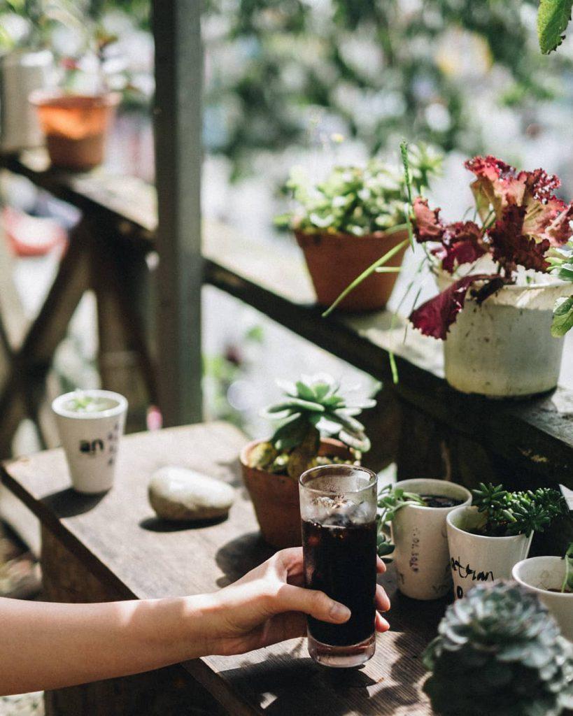 an cafe view đẹp