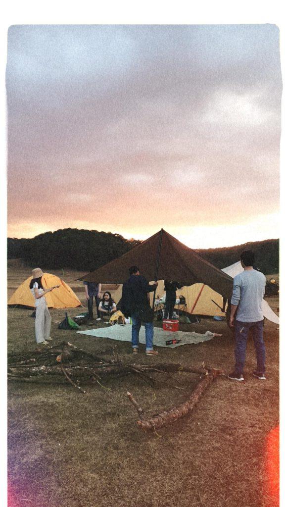 cắm trại tại hồ suối vàng Đà Lạt