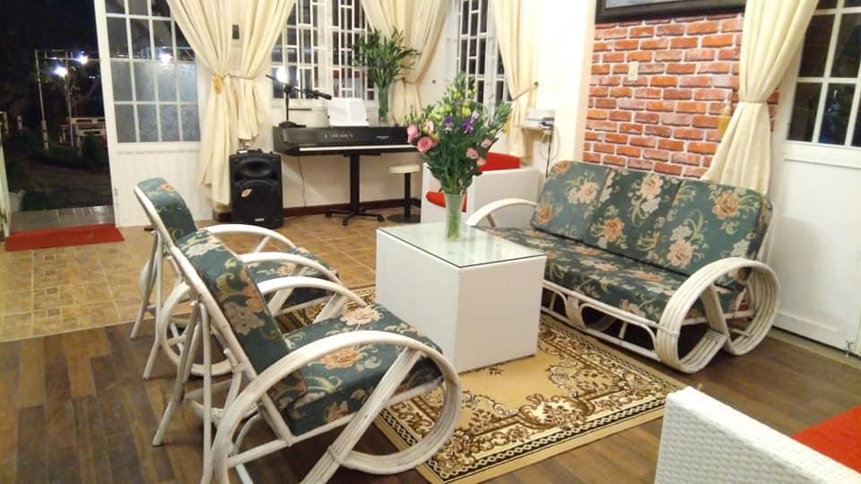 Phòng khách ở Homestay vivir El Amor Đà Lạt