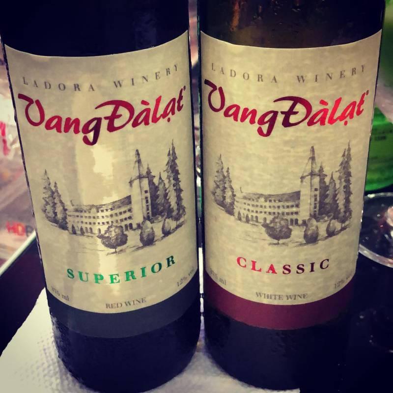 đồ uống ngon rượu vang Đà Lạt