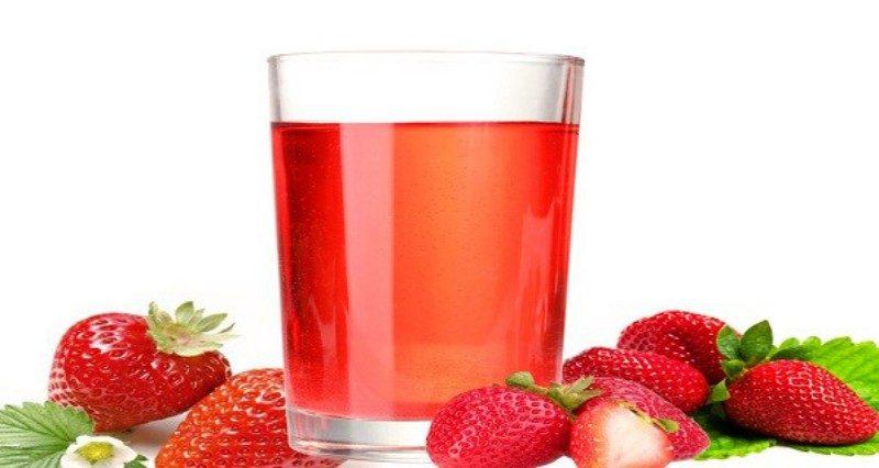 thức uống Đà Lạt nước ép dâu