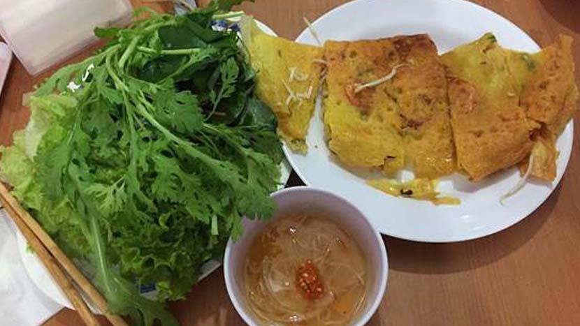 Bánh xèo ngon ở Đà Lạt