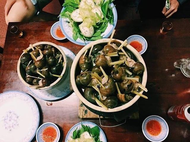 Các quán ốc nhồi thịt ngon nhất ở Đà Lạt