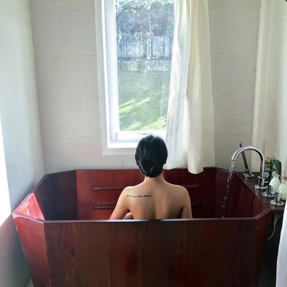 homestay có bồn tắm view đẹp