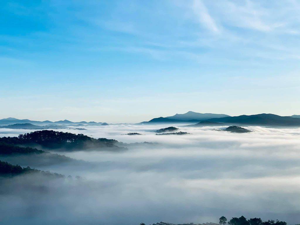 quán cafe săn mây đẹp Đà Lạt