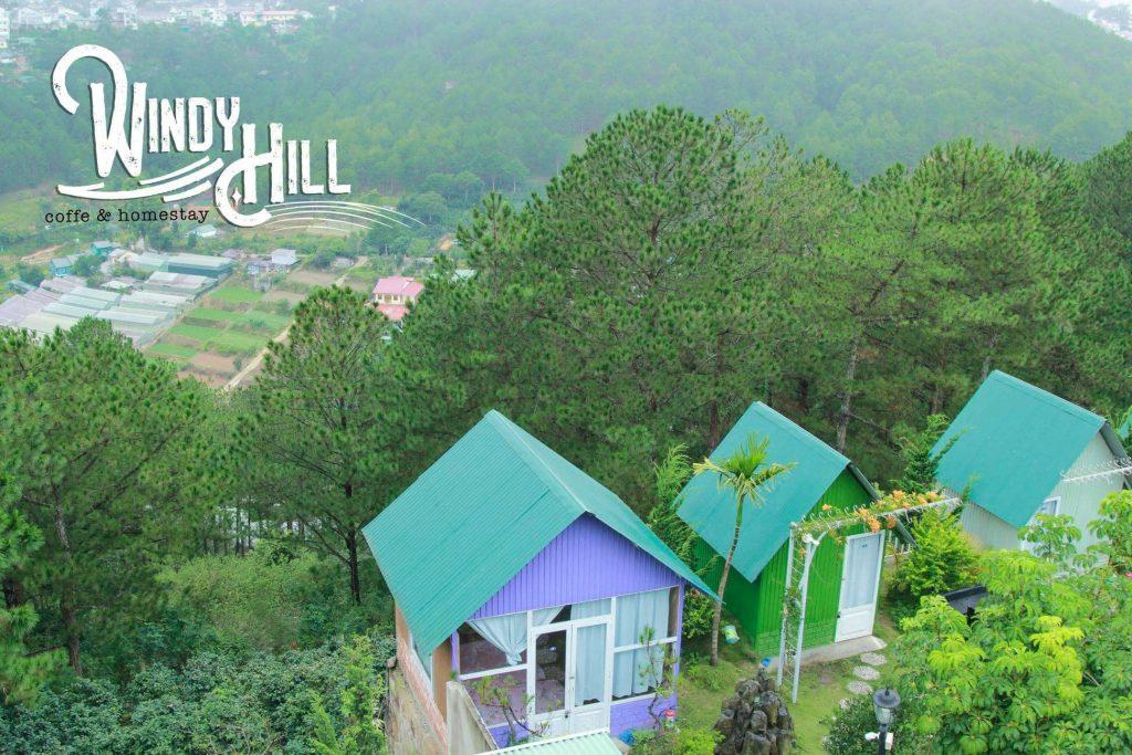 Windy Hill homestay Đà Lạt view thung lũng