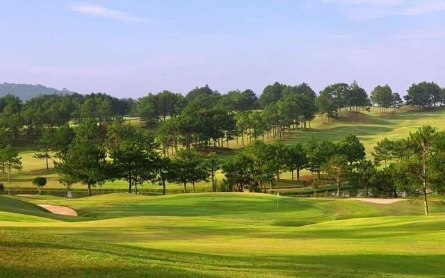 sân golf Dalat Palace