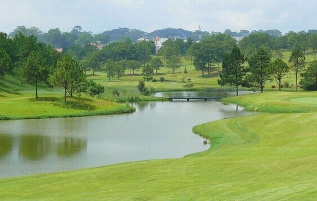 golf dalat Palace đạt tiêu chuẩn quóc tế