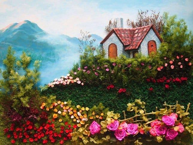 hình ảnh rừng hoa Đà Lạt