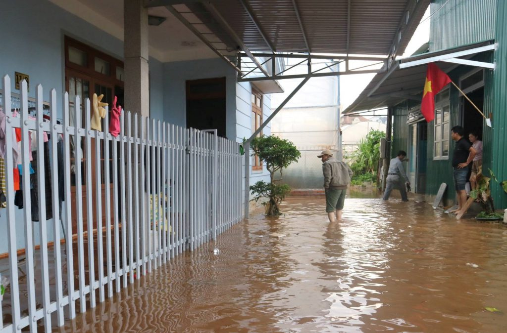 ngập lụt do mưa