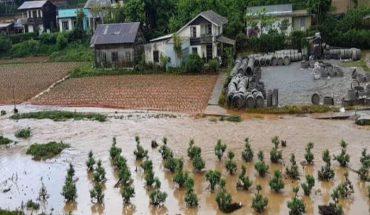 ngập lụt nặng nề do mưa